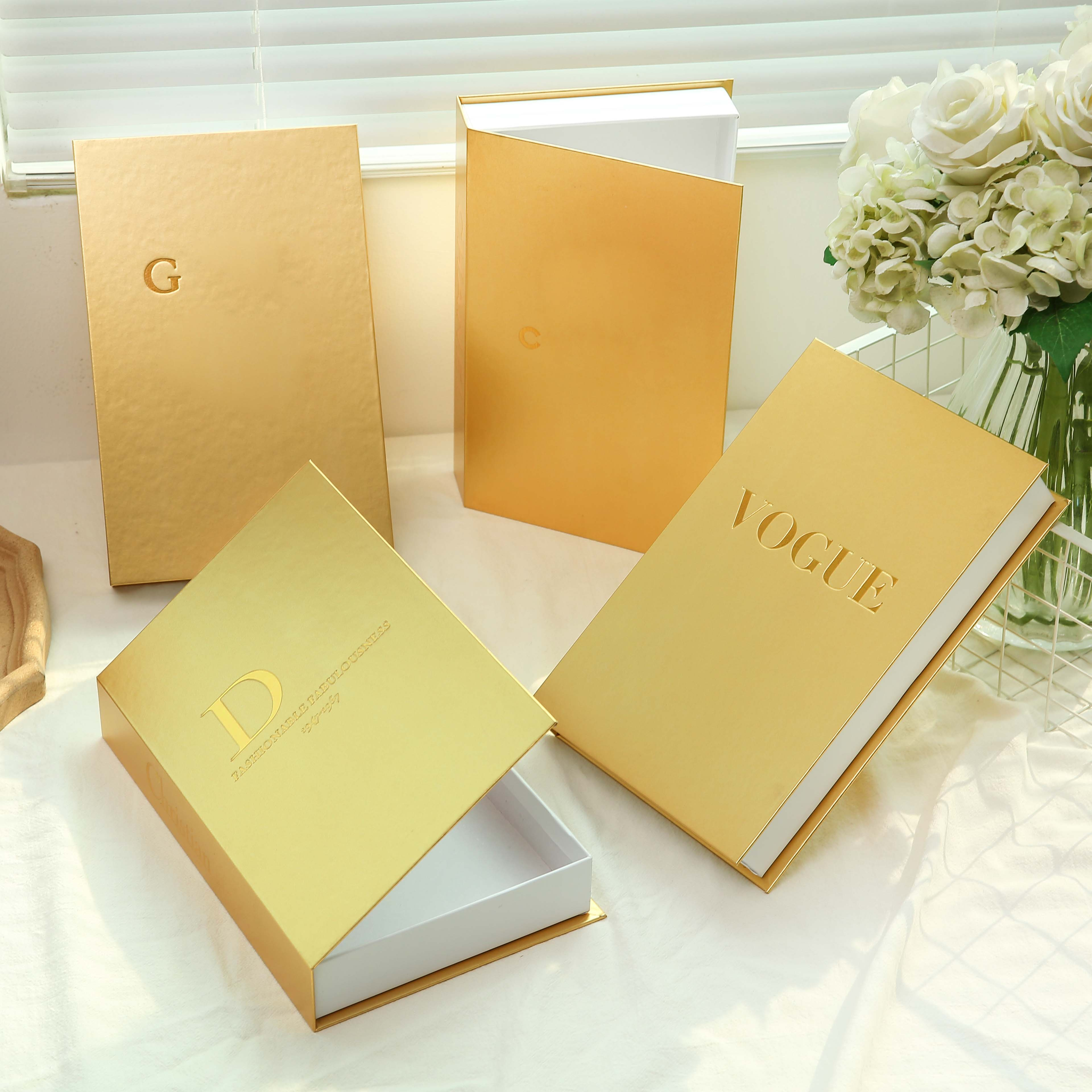 Fake Books Openable Home Decoration Book Box Stylish and Beautiful Desktop Decoration Can Be Customized Storage Home Accessories