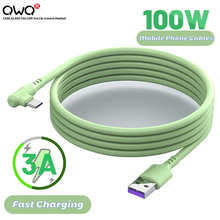 3A Liquid Silicone USB Type C Cable Fast Charging Mobile Phone Charger Data Cord For Xiaomi Redmi Huawei Samsung Wire Data Cable