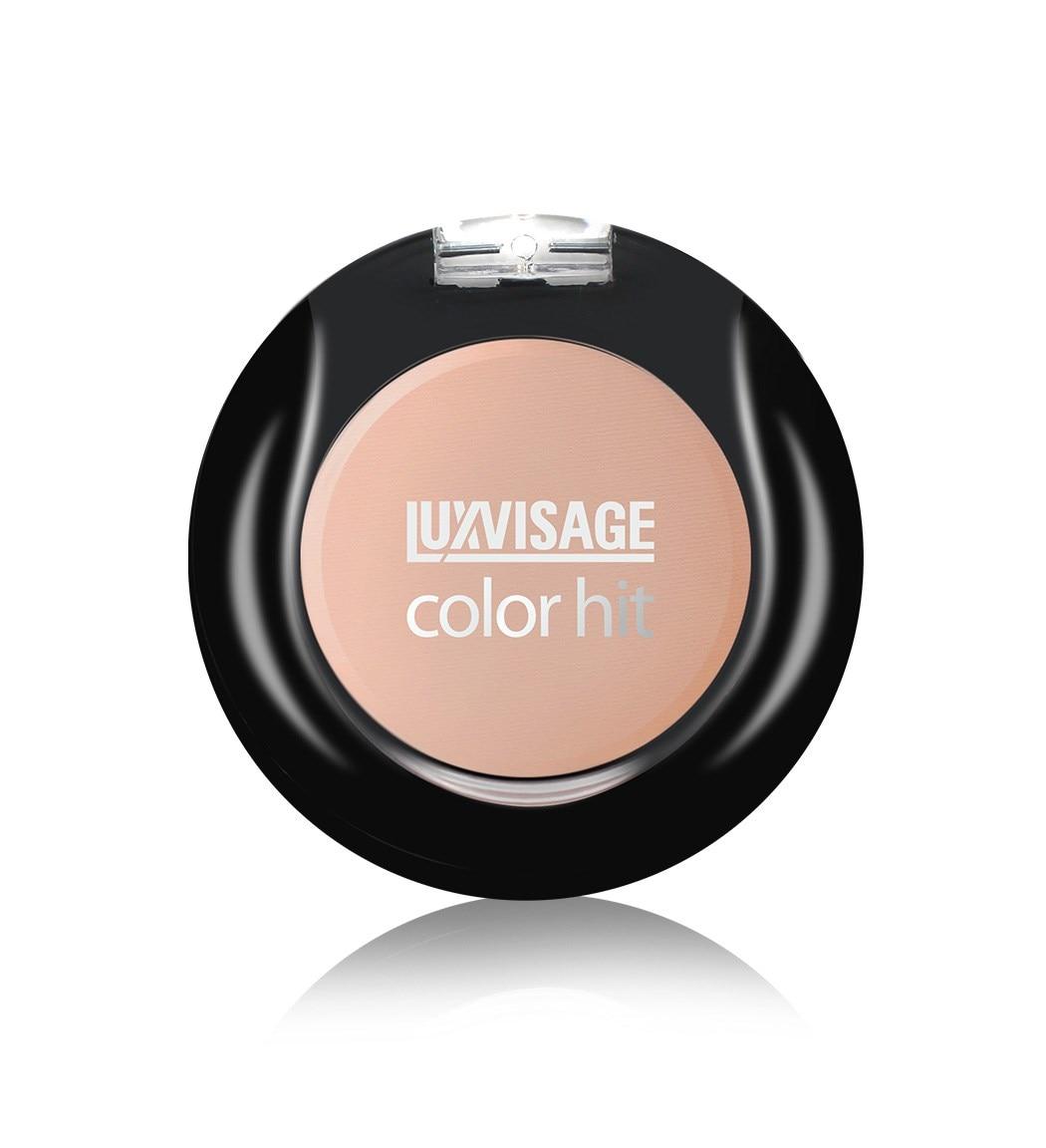Colorete compacto luxvisage 2,5g compacto polvo de Control de aceite Mate maquillaje ajuste presionado poros polvo Mate Invisible maquillaje Natural cosméticos