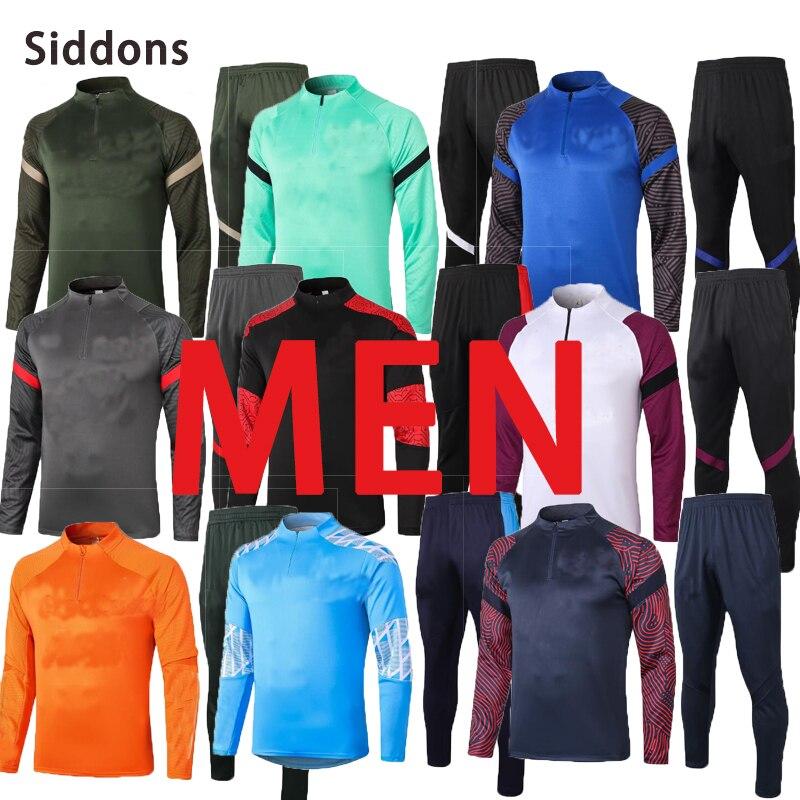 2222 Training Suit 2020 2021 Men Suit Football Tracksuit Training Wear Barsenales Custom Football Kit