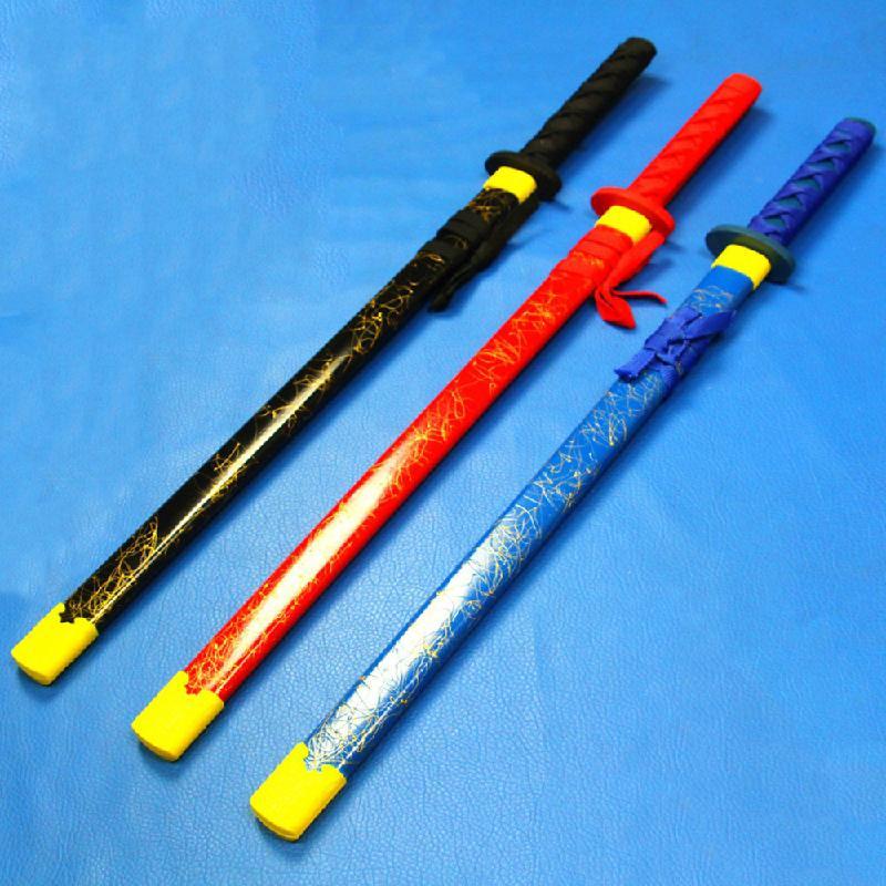 Wooden sword children's sword children's gifts children's toys imitation wooden sword toys wooden to