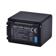 1pc VW-VBT380 VW VBT380 3900mAH Li-ion Batterie pour Appareil Photo Panasonic HC-V180GK HC-V380GK HC-W580GK HC-W580MGK HC-V110 HC V130 160