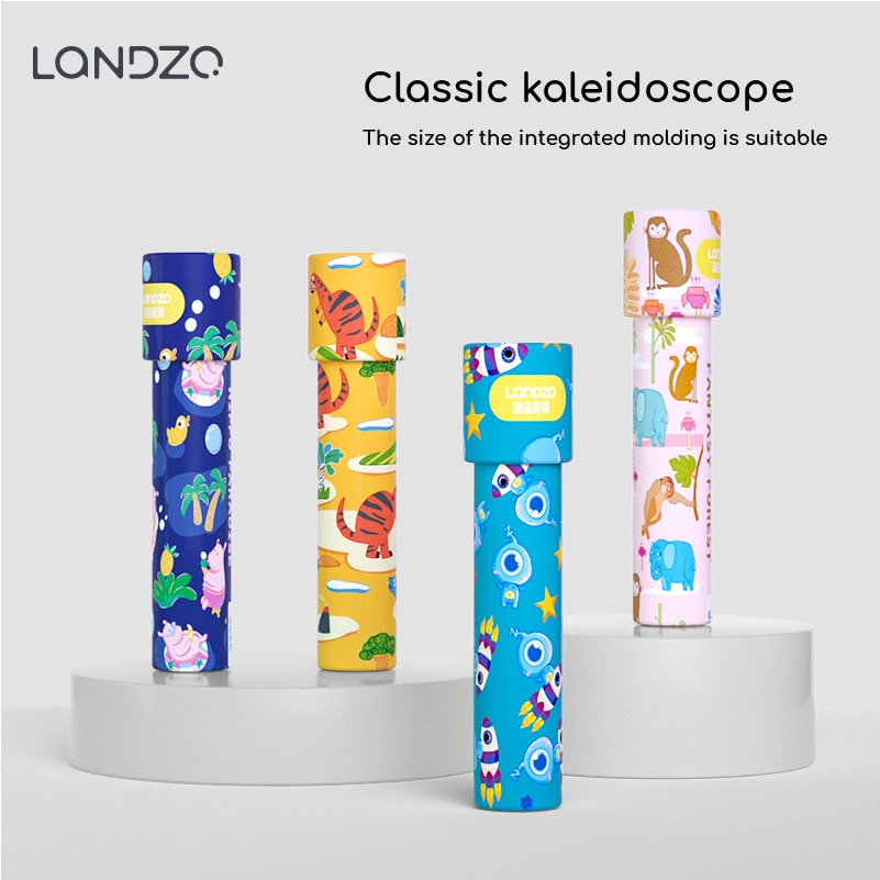 4 Kinds Large Scalable Rotating Kaleidoscopes Extended Rotation Adjustable Fancy Colored World Baby Toy Children Autism Kid Toy rotating kaleidoscope rotation fancy world baby toy kids autism kid interesting toy for children gift cherryb