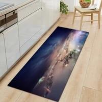 Paillasson dentree de la serie Galaxy  tapis rectangulaire de salon  decoration de sol de chambre a coucher