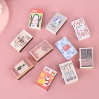 New Arrival Mini Book 1 12 Dollhouse Miniature Book Model Page Turning Notebook Study Decor