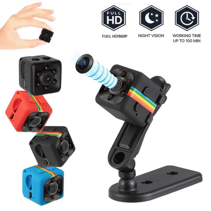 Micro Video Camera DVR DV Recorder Camcorder Mini Camcorders SQ11 Mini Camera 960P Small Cam Sensor