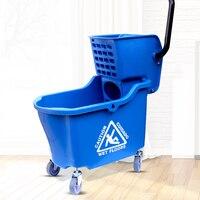 Clean wash water press dry machine bucket car with a bucket of wash water wash clean self pressure.