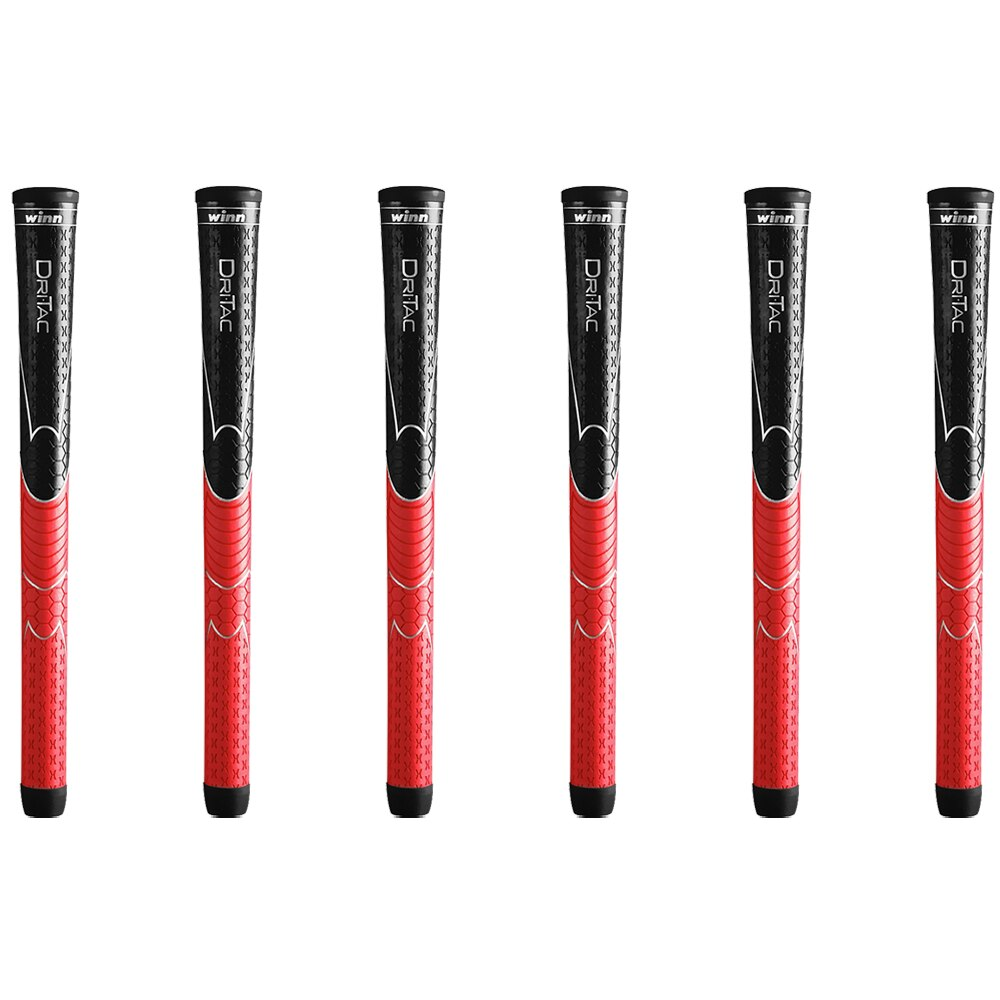 ¿10 WINN DRITAC AVS estándar agarre de GOLF? 5DT-BRD 5 colores PU cuero CLUB GRIPS envío gratis