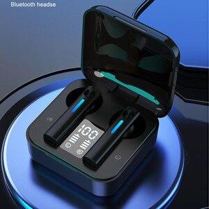 Bluetooth Earphones Wireless Headphones LED with Microphone Earphones Noise Cancel Headsets