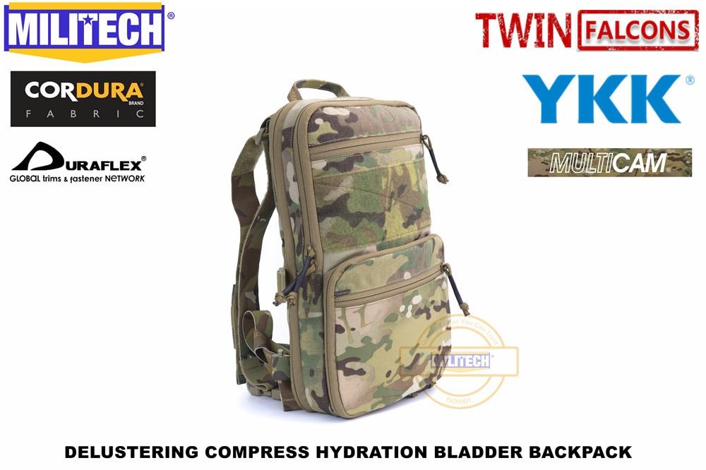 militech compressa flatpack hidratacao mochila mk3 compativel bexiga de agua 8l saco