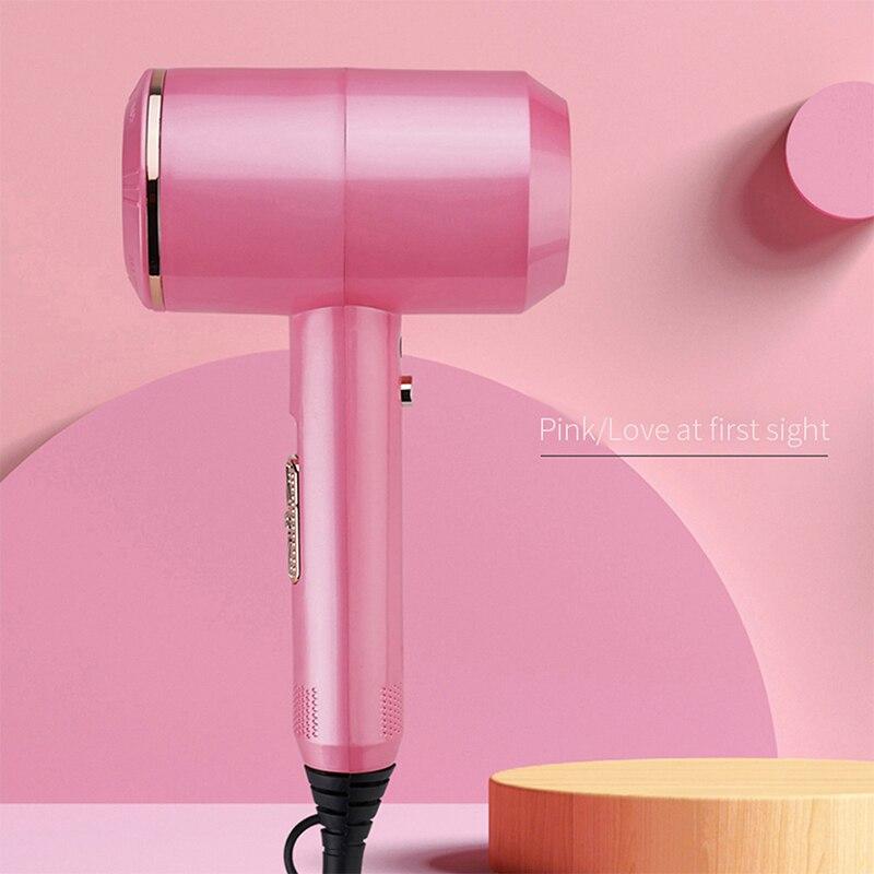 Secador de pelo para cabello por soplado en caliente secador de pelo negativo Ion Profesional 2000W viento fuerte poco ruido viaje disponible estilo de belleza