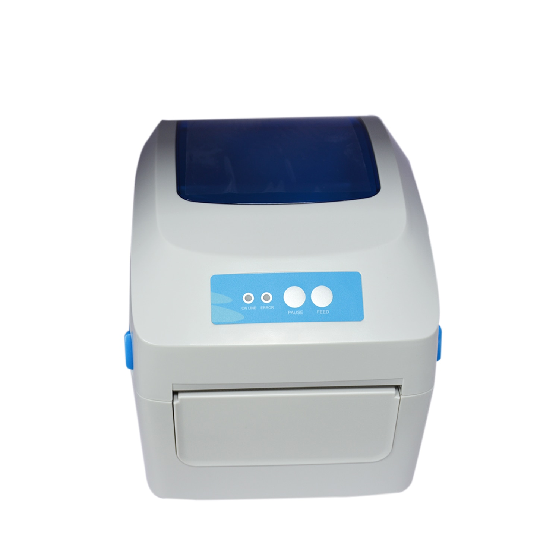 Portable Label Printer 4 Inch Thermal Printer Maker Sticker Printer Great for Retail GP-1324D