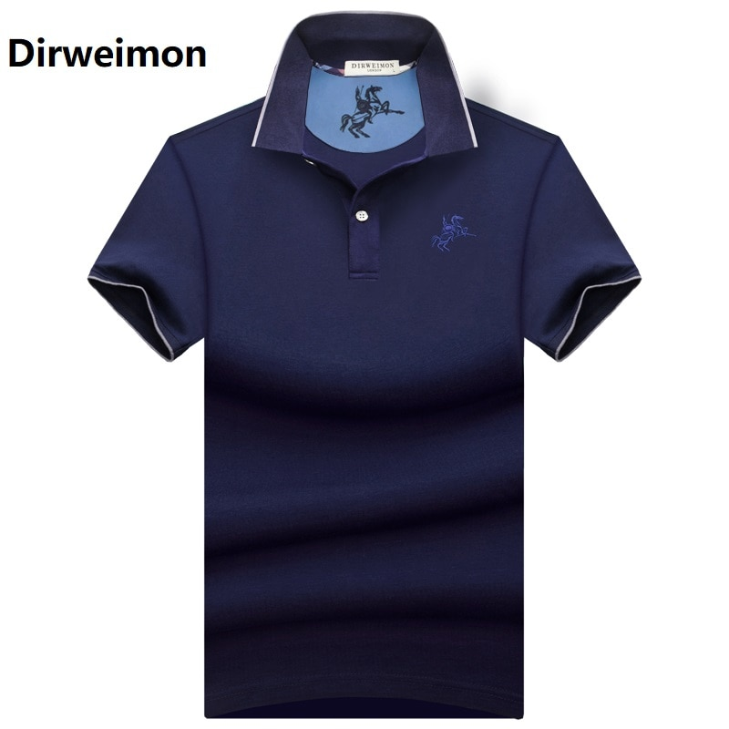 2019 New Men POLO Shirt Fashion Polo Homme Slim Fit Short-sleeve Camisa Polo shirts Men's Summer Plus Size 6XL 7XL 8XL 9XL10XL