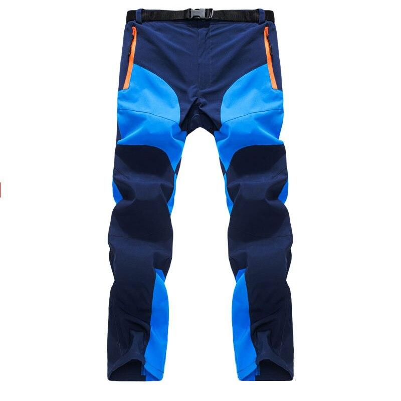 Брюки-карго мужские быстросохнущие, дышащие штаны на молнии, на молнии, с карманами, для походов, кемпинга, скалолазания, летние