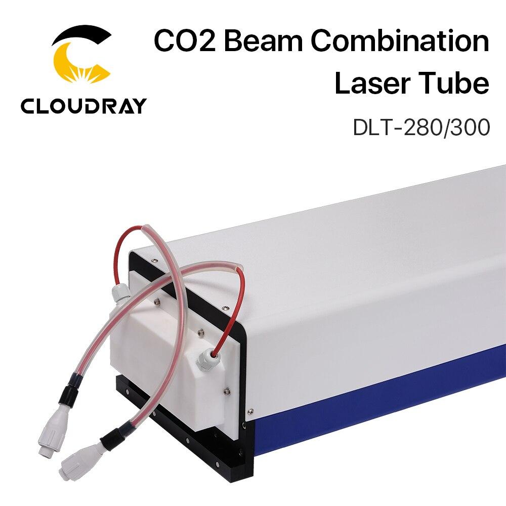 Combinación de haz Cloudray Yongli LT07YLD280 / LT07YLD300 tubo láser para máquina cortadora de grabado láser CO2