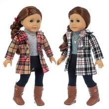 18inch American og journey girl doll clothes 18-inch girl doll coat children girl toys wear gift