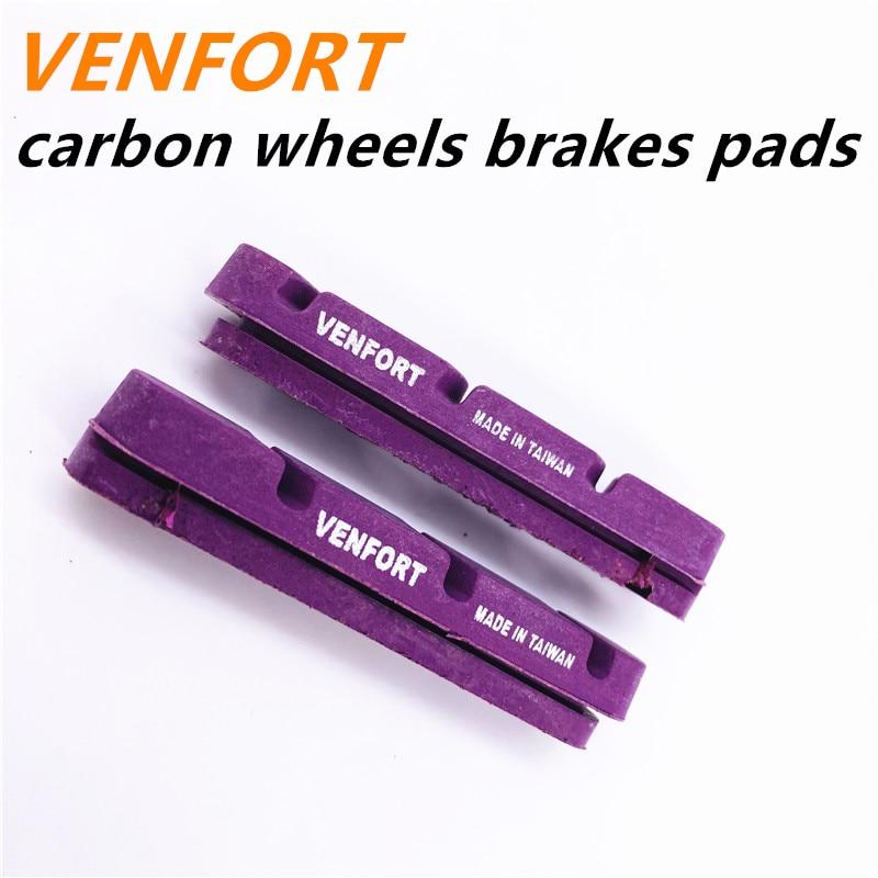 Тормоза для дорожного велосипеда VENFORT, тормозные колодки из углеродного волокна, тормозные колодки, тормозные колодки из пробки, колеса, тор...