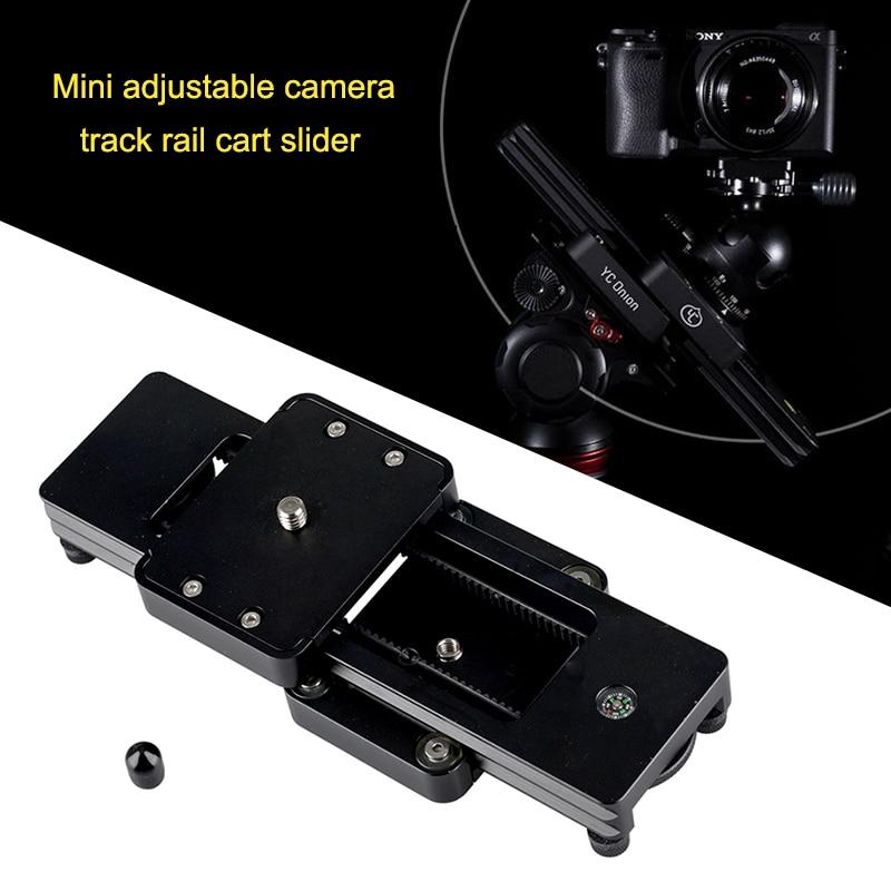 Portable Camera Slider Mini Hydraulic Damping for Gopro DSLR Camera Phones VDX99