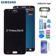 Orijinal Samsung Galaxy J7 başbakan G610 G610F G610K G610L G610S LCD ekran dokunmatik ekran Digitizer meclisi ile