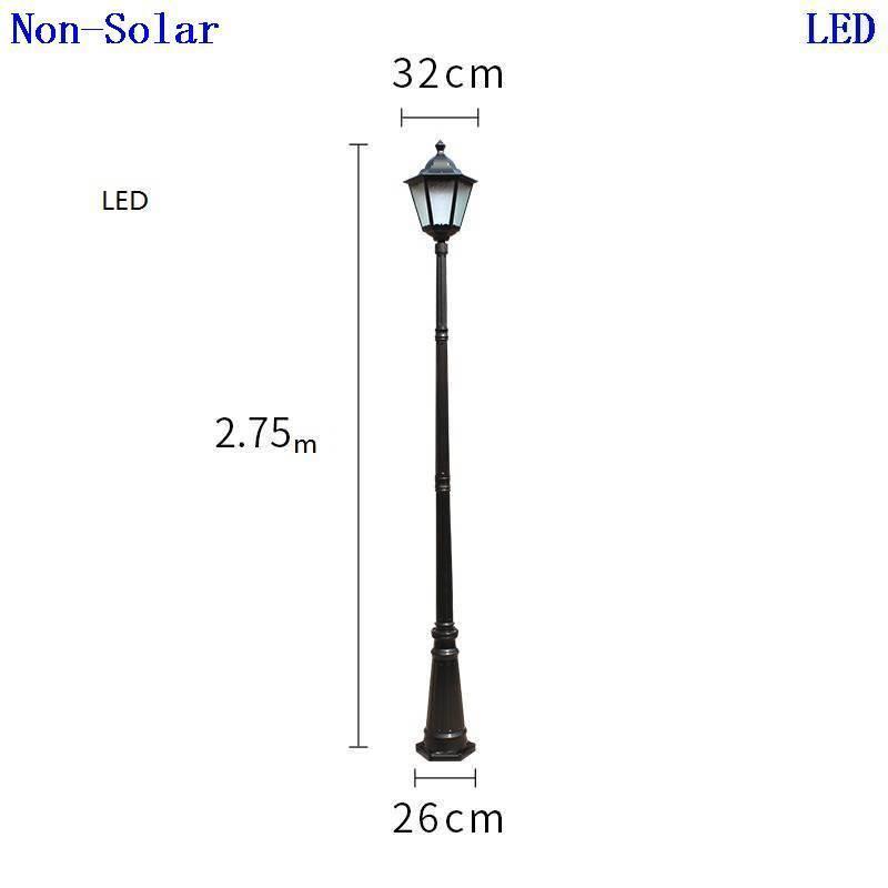 Straatverlichting Farola Lampadaire Ogrodowe Eclairage Exterieur Lampione Plaza Lamp Uliczna Led Street Road Light enlarge