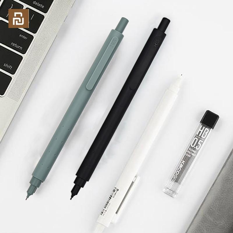 Youpin KACO lápiz mecánico Anti Rotura de núcleo de alta calidad estilo Simple de propulsión lápiz escuela Oficina suministros papelería