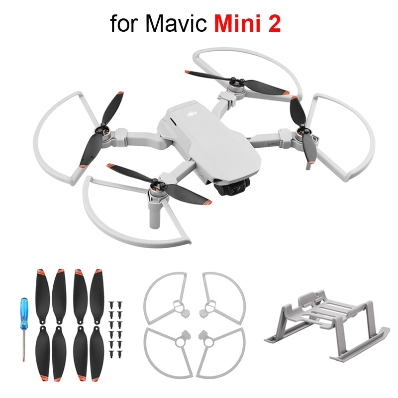 Quick Release Landing Gear for Mavic Mini 2 Height Extender Support Leg Propeller Protector for DJI Mini 2 Drone Props Blade недорого