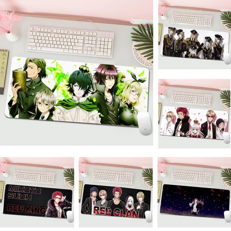 Игровой коврик для мыши K Project с аниме, большой игровой коврик для клавиатуры, ПК, настольного компьютера, планшета, игровой коврик для мыши