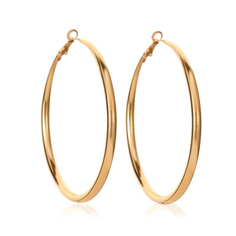 Ouro slippy torcido waterdrop oco círculo geométrico moda simples liga sleeper hoop brincos para mulher