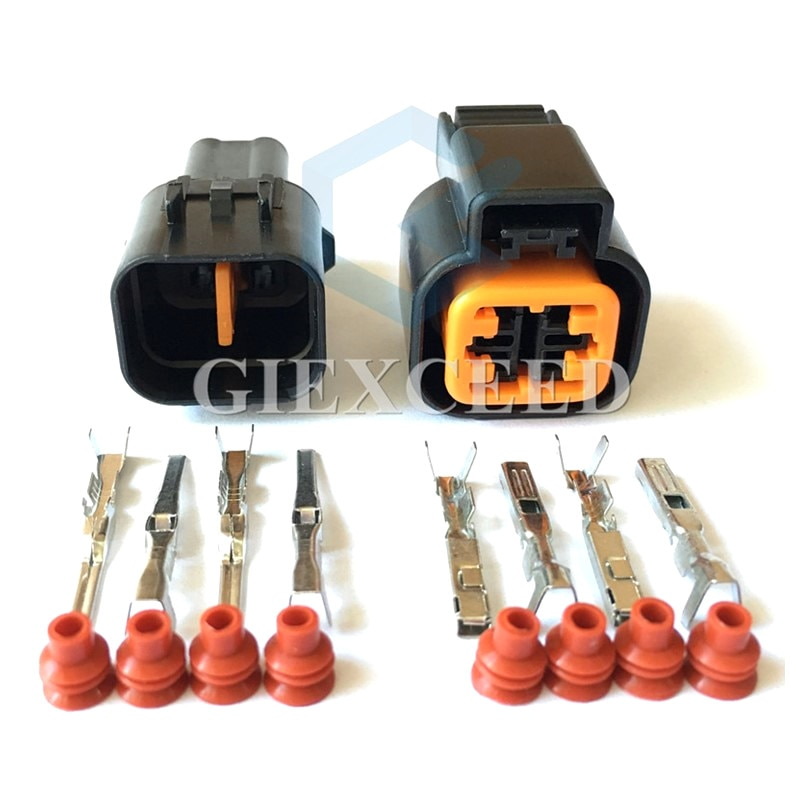 2 Sets 4 Pin PB621-04020 PB625-04027 Auto Stecker Steckdose Automotive Sensor Stecker Für Hyundai Kia