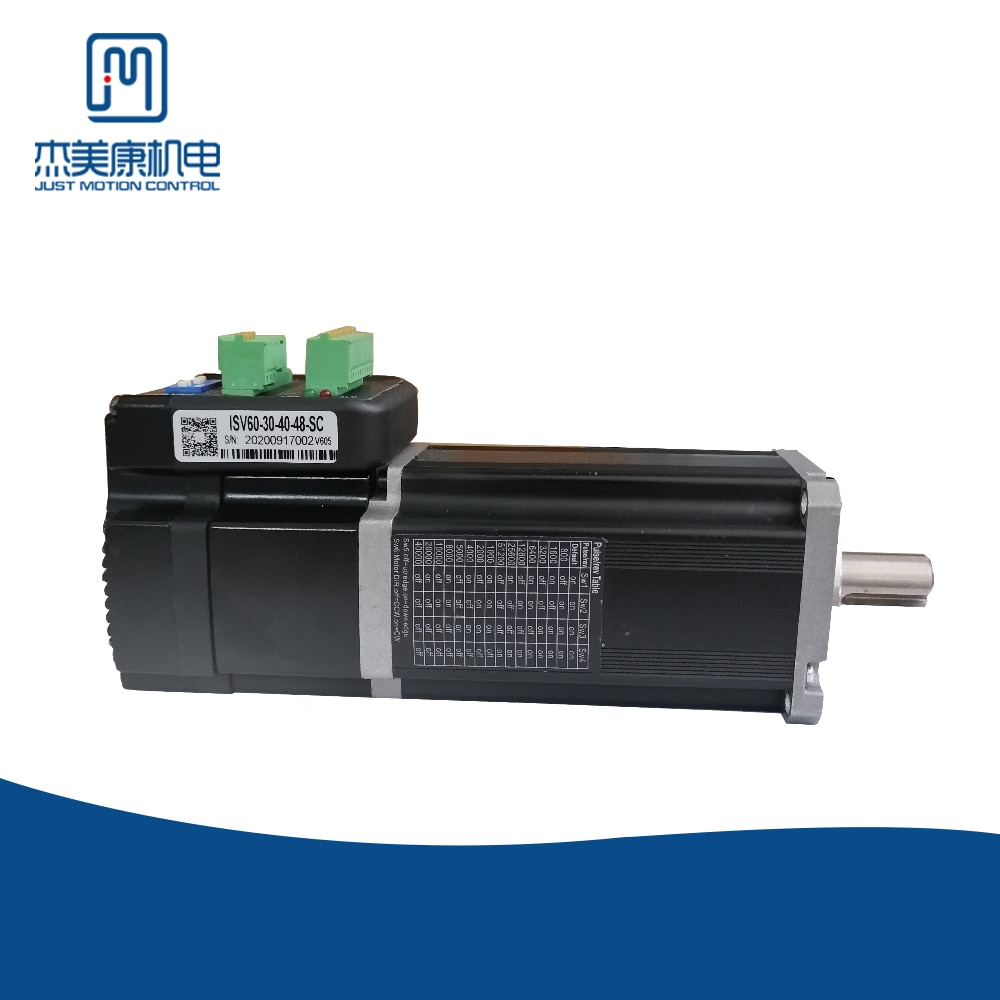 JMC أجهزة السيارات مع الفرامل المغناطيس الدائم صغيرة آلة 3000Rpm سرعة الاتصال: 9.6 كيلوبت في الثانية V605 النسخة IHSV60-30-40-48-SC