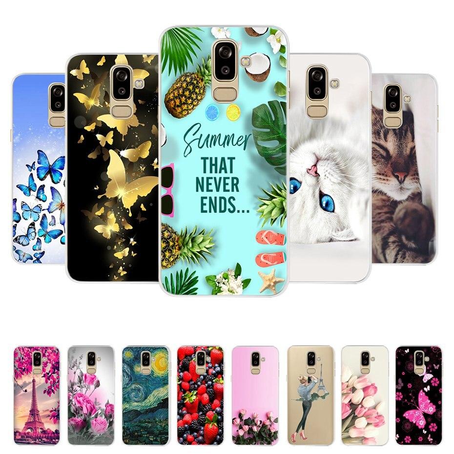 Чехол для Samsung Galaxy J8 2018, чехол j810 j810f sm-j810f, 3D Силиконовая задняя крышка, TPU Fundas для Samsung J8 2018, чехол для телефона