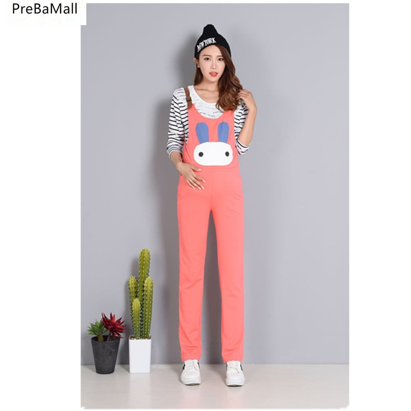 Overalls Maternity Denim For pregnancy Women High Waist Belly Trouser Pregnant  Jumpsuit Bibs Woman casual Jeans Trousers E0122 enlarge