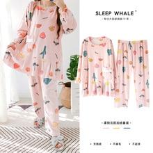 XXXXXL Autumn and Winter Super Soft Thin Cashmere Velvet Flounced Medium-length Pajamas Female 200 J