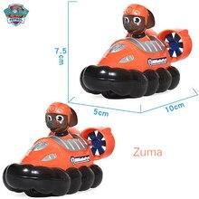 Patte Patrol-jouet pour enfants, figurines de chien, modèle Chase marshall Ryder, véhicule, Zuma Rocky Canina