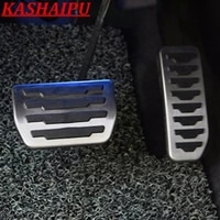hot car footrest gas brake pedal cover for jaguar xe xf f pace e pace fpace epace 16 21 for range rover evoque velar 17 21