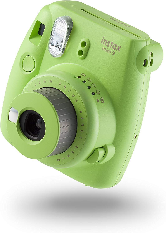Instax Mini 9 كاميرا فوجي فيلم رقمية كاميرا تصوير HIFI-KEY لصور السيلفي بولارويد كاميرا تصوير فورية بصور انستاكس