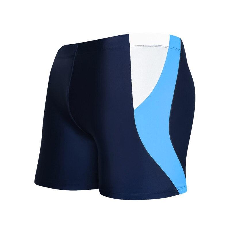 Men Plus-sized Swimming Trunks Korean-style Slim Fit Boxer Comfortable Swimming Printed Mens Shorts /30
