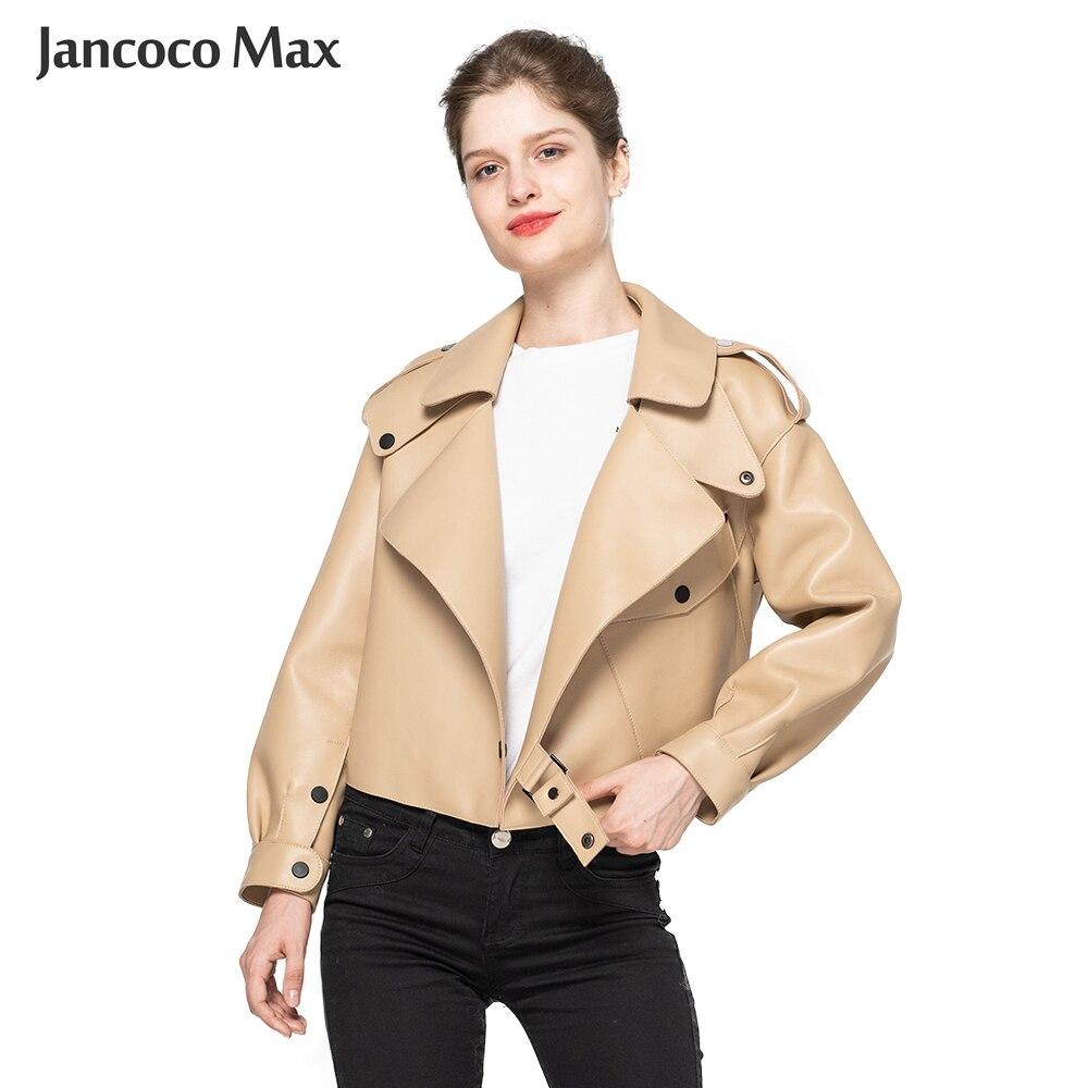 المرأة حقيقية جلد الغنم سترات من الجلد 2020 أعلى جودة معطف جلد طبيعي موضة جاكيتات سيدة جديد وصول S7547