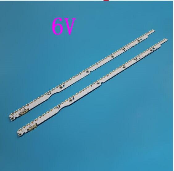 شريط إضاءة خلفي LED 6 فولت ، لهاتف Samsung UE32ES5507 UE32ES5537 ، مجموعة شريط تلفزيون LED ، عدسة خط ، 2012SVS32 7032NNB 44 2D REV1.1 REV1.0