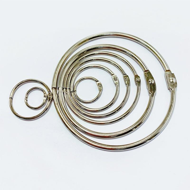 Metal ring binder ring binder ring hoop multi-function key ring ring book binding ring office binding supplies недорого