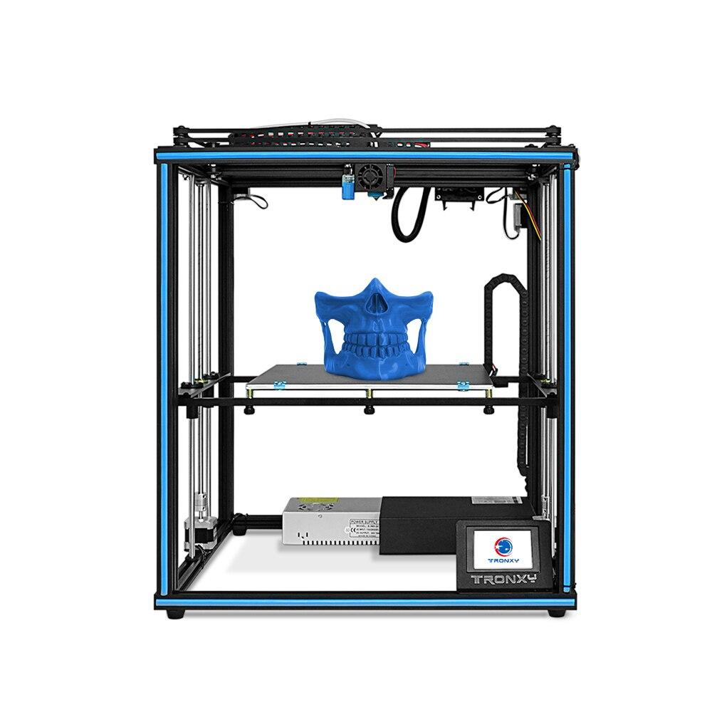 Impresora X5SA X5SA PRO3D Coxy con diseño de carril guía de doble eje integrado de gran tamaño 330*330*400mm para la industria educativa del hogar