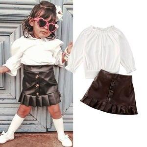 Зимняя трикотажная одежда для маленьких детей и девочек