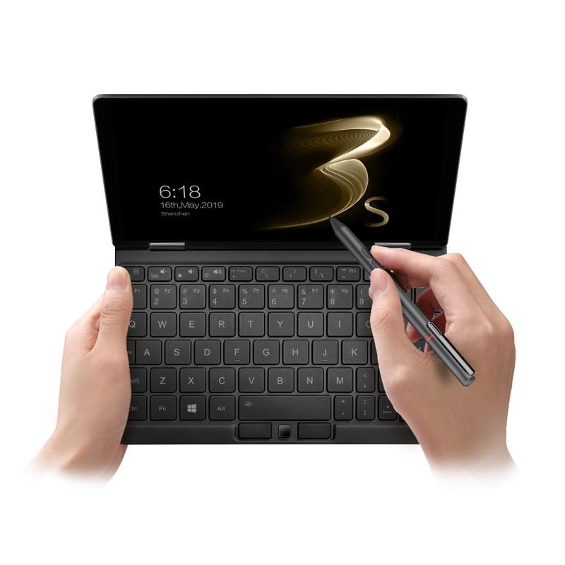 2021 Original One Netbook OneMix 3s Pocket Laptop Mini PC Notebook Windows 10 8.4'' Intel Core M3-8100Y 8GB DDR3 256GB PCIE SSD