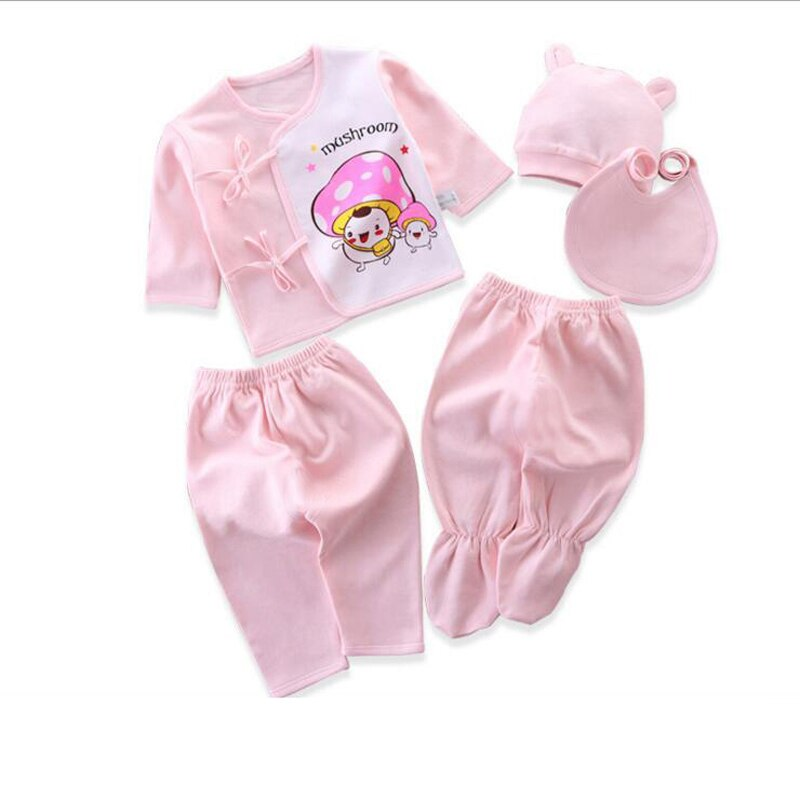 Newborn Set Baby Clothing Suits for Children 0-3Months Cartoon Fashion Clothes Girls and Boys Cotton 5pcs/set Baby Girl Outfits children s suit baby boy clothes set cotton long sleeve sets for newborn baby boys outfits baby girl clothing kids suits pajamas