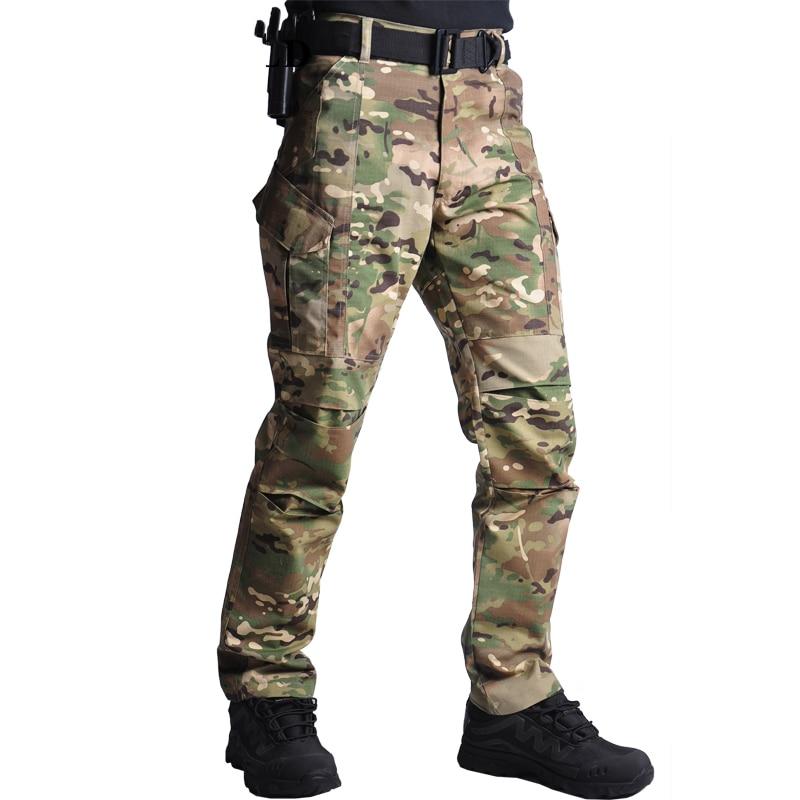 Брюки для мужчин 2021 камуфляж тактические военные брюки тренировочная одежда карго для мальчиков, спортивные штаны, мужские джоггеры, модна...