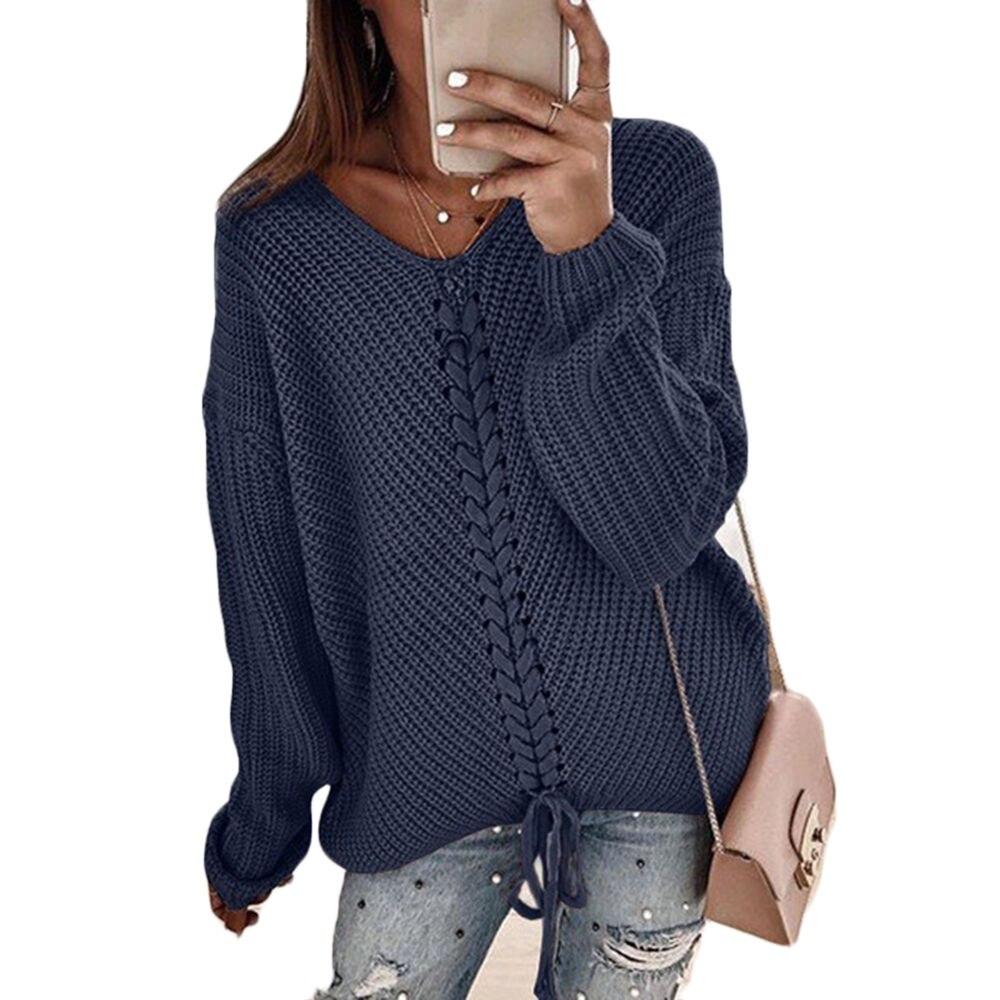 Женские свитера, осенние и зимние свитера в новом стиле, женские толстые свитера в европейском и американском стиле для женщин