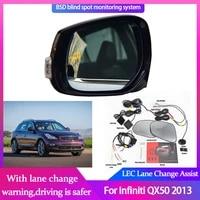 car blind spot mirror radar detection system for infiniti qx50 2013 bsa bsm bsd monitor lane change assist parking radar warning