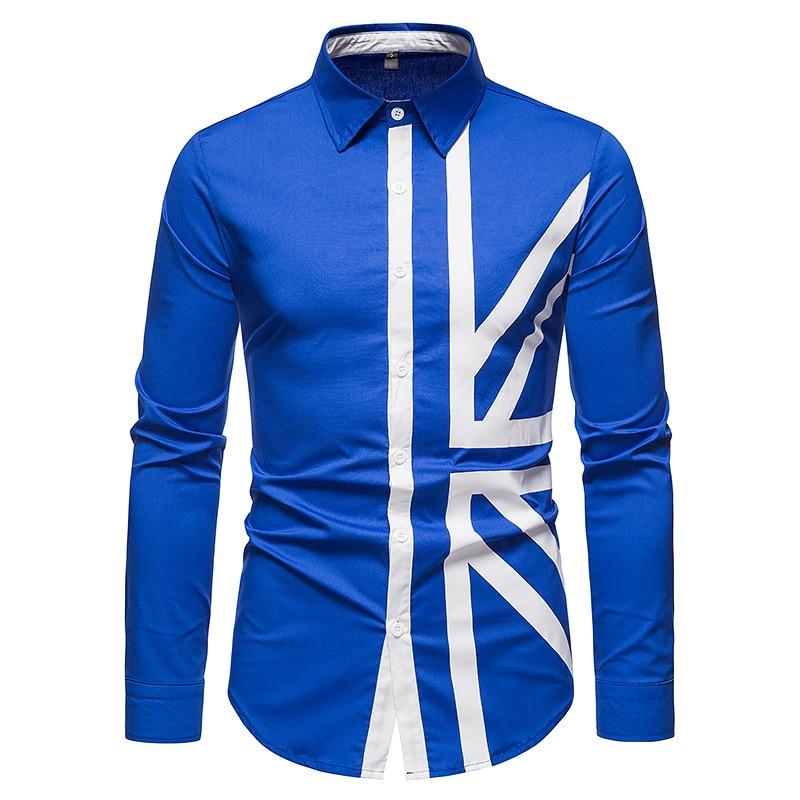 Мужская рубашка, Новая европейская Мужская рубашка, рубашка с длинным рукавом, мужская рубашка, модная рубашка,