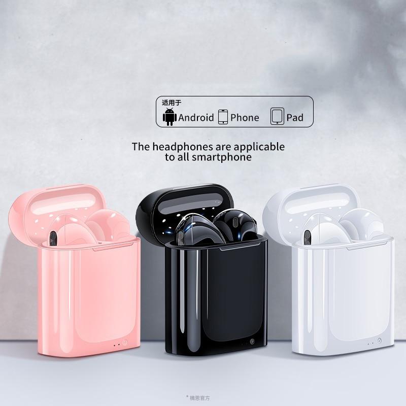 i7s TWS Wireless music Headphones Mini Stereo Earbud Bluetooth wireless earphones For iPhone huawei