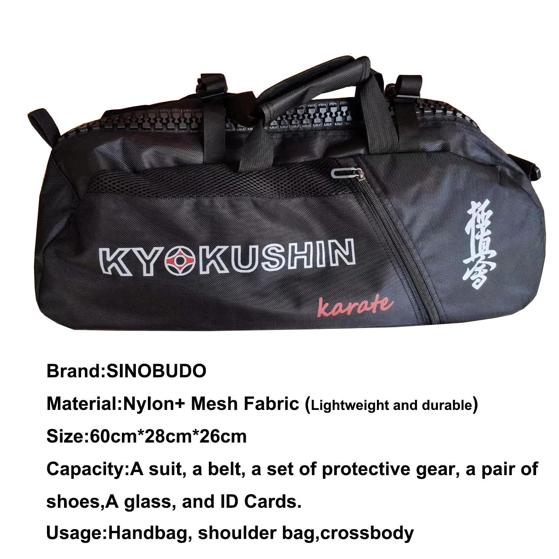 Professional Kyokushin Bag for Training Sport Karate Taekwondo Lightweight Handbag  Multifunction Waterproof Backpacks